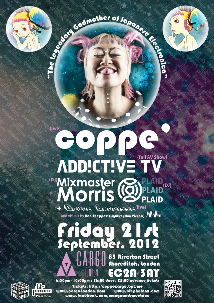 plaid / mixmaster morris / addictive tv + coppé at cargo / london !!!