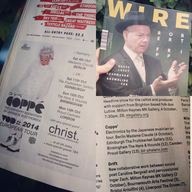 wire mag 2014 tour