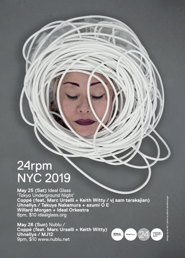 coppé nyc mini tur 2019 !!! it'll b broadcasted LIVE by somaFM !!!!!
